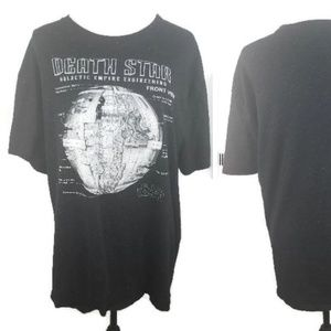 Star Wars Death Star Adult Unisex Tee Shirt 2XL